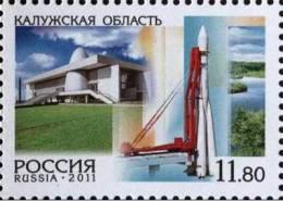 Russia 2011 Kaluga Region Space 1v MNH - Russia & USSR