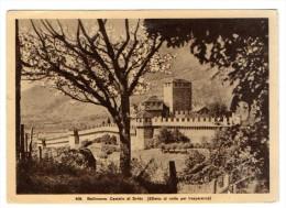 BELLINZONA - CASTELLO DI SVITTO(EFFETTO DI NOTTE PER TRASPARENZA)- C588 - TI Tessin