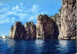 Gaeta - Latina - Montagna Spaccata Vista Dal Mare - Formato Grande Viaggiata - Latina