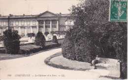 CPA Compiegne - Le Château Et Le Parc - 1912 (12574) - Compiegne