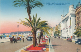 NICE    06    Promenade Des Anglais Et Le Palais De La Méditerranée       -M1- - Monumentos, Edificios