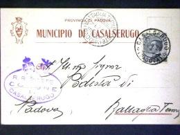 VENETO -PADOVA -CASALSERUGO -F.P. - Padova (Padua)