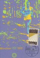 LEICHTATHLETIK-ATHLETICS- TRACK&FIELD-ATHLETISME-AT LETICA LEGGERA, W. Germany, 1972, Special Postmark !! !! - Atletica