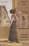 Saluti Da Albano Laziale - Palazzo Dei Carissimi (carte à Système) - Other Cities