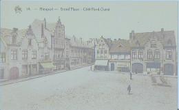 NIEUPORT - GRAND PLACE  - CÔTE NORD-OUEST - Nieuwpoort