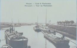 NIEUPORT - CANAL DE PLASCHENDAELE - Nieuwpoort