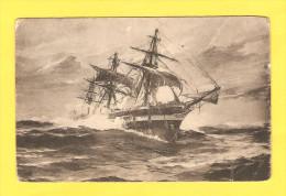 Postcard - Ships, S.M.S.  Saida    (18309) - Segelboote