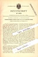 Original Patent - Justus Ulrich In Pfungstadt , 1880 , Malzdarre Für Brauerei , Alkohol , Bier !!! - Pfungstadt