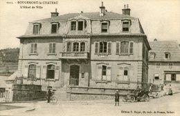 C3580 Cpa 90 Rougemont Le Château - L'Hôtel De Ville - Rougemont-le-Château