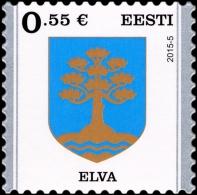 Definitive Stamp Elva Estonia 2015 MNH - Estonia