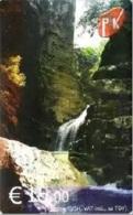 Kosovo - KOS-P-03, PTK Waterfall, 15 €, Used - Kosovo