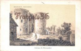 (33) Blanquefort - Château De Blanquefort - Ancienne Guyenne - 2 SCANS - Blanquefort