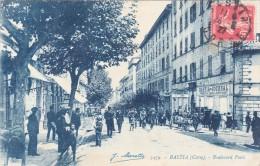CPA-20-Corse-Bastia-animée Boulevard Paoli Moretti 3479 - Bastia