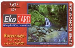 GUADELOUPE EKOCARD Ref MV CARD ANTF CT52 La Rivière Aux écrevisses 7,5€ - Antilles (Françaises)