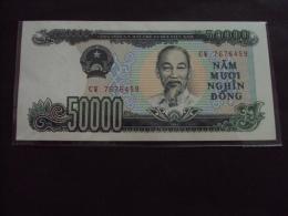 Vietnam Viet Nam 50000 Dong AU Banknote / Billet 1994 -P#116 / 02 Images - Vietnam