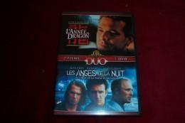DOUBLE DVD  ° L'ANNEE DU DRAGON  +  LES ANGES DE LA NUIT - Policiers