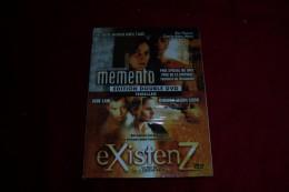DOUBLE DVD  °  MEMENTO  +  EXISTEN Z - Policiers