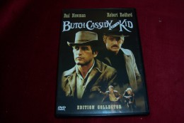 BUTCH CASSIDY ET LE KID   ° AVEC PAUL NEWMAN  ET ROBERT REDFORD - Western/ Cowboy
