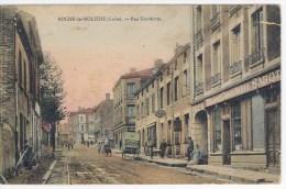 CPA 42 - ROCHE LA MOLIERE - Rue Gambetta - Sonstige Gemeinden