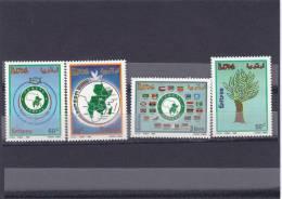 Stamps ERITREA 1995 SC 252-255 COMESA MNH SET ER#5 LOOK - Eritrea