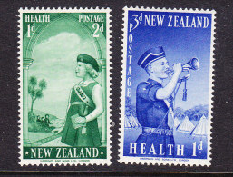 New Zealand 1958 Health Set Mint - New Zealand