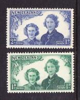 New Zealand 1944 Health Set Mint - 1907-1947 Dominion