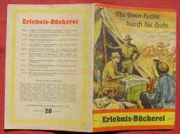 (1047156) Sven Hedin, Asien, Expedition, Erlebnis-Bücherei. Originalheft 1940-45. Siehe Bitte Beschreibung U. Bild ! - Bücher, Zeitschriften, Comics
