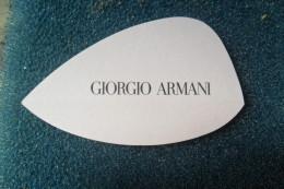 Armani Giorgio - Perfume Cards
