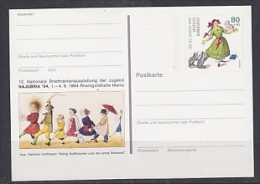Germany 1994 Najubria '94 Postal Stationery Postcard Unused (19994) - [7] West-Duitsland
