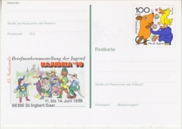 Germany 1998 Najubra '98 Postal Stationery Postcard Unused (19997) - [7] West-Duitsland