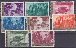 Rwanda 1967 Paintings 8v ** Mnh (19998) - Rwanda