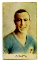 331> Figurina DAVIT Torino Calciatori ENRIQUE GUAITA - Italia / Roma = Anno 1935 - Trading Cards