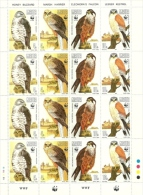 1991 - Malta 843/46 Rapaci - Minifoglio^ - W.W.F.