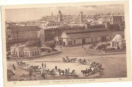 SOUSSE Place PICHON Et La VILLE ARABE     174 - Tunisie