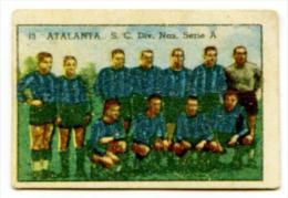 333> Figurina Collezione Sconosciuta Calciatori : ATALANTA Serie A - Anni ´40 - Trading Cards