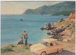 Voiture :   La   Dauphine   , Mars  1956 - Postcards