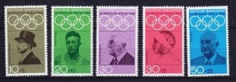 Germany 1968 Sommer Olympic Games 5v ** Mnh (20001) - Zomer 1968: Mexico-City