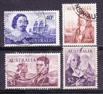 Australia 1966 Navigators 4v Used (20002) - 1966-79 Elizabeth II