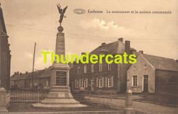 CPA LADEUZE LE MONUMENT ET LA MAISON COMMUNALE - Belgique