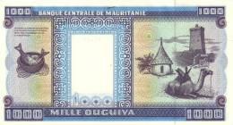 MAURITANIA P.  9a 1000 O 1999 UNC - Mauritania
