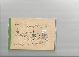 Petit Livret  ( Format 173x118 Mm) -  B1610 - Livret Souvenir ( Allemand) Randonnée  1981 Près Colmar ( Cf Description) - France