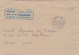 1999 PARTIE DE LETTRE MAYOTTE. DZAOUDZI /5631 - Mayotte (1892-2011)