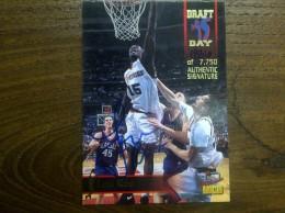 NBA Card Lou Roe,Authentic Signature. - Autografi
