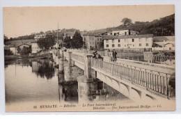 Tarjeta Postal Hendaye, Le Pont International - Hendaye