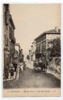 Tarjeta Postal Hendaye, Rue Du Port. - Hendaye
