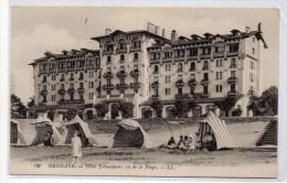 Tarjeta Postal Hendaye, Hotel Eskualduna. - Hendaye