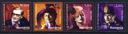 ROMANIA 2006 Actors Set Of 4  MNH / **.  Michel 6142-45 - 1948-.... Republics