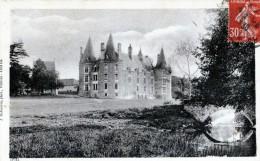 CHATEAU DE LA ROCHE DE GERCAY VUE PRISE DU PARC - Castillos