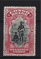 BELGIAN CONGO  1910 COB  62 MNH ** - Belgian Congo