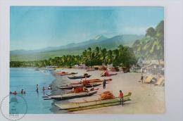 Philippines Postcard - Talomo Bach With Mt. Apo Tallest Mountain Peack - Davao City - Filipinas